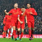 Liverpool still on course for their ninth League Cup trophy