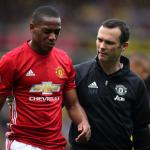 Anthony Martial missing for Manchester United against Leicester