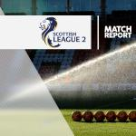 Montrose 2-2 East Fife: Match Report