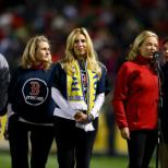 Boston Red Sox honour marathon bomb victims