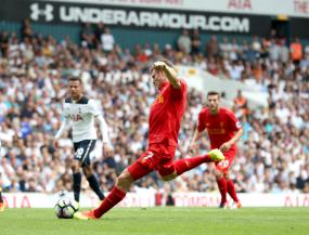 Tottenham and Liverpool share the points at White Hart Lane