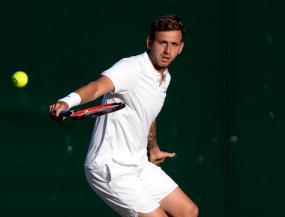 Dan Evans out but Aljaz Bedene and Kyle Edmund progress at Winston-Salem Open