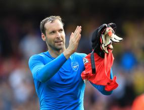 First half performance at Watford pleases Arsenal goalkeeper Petr Cech