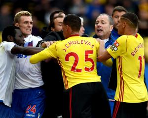 Watford and Stoke charged with failing to control their players by FA