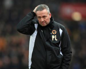 Paul Lambert leaves Wolves after six months as head coach