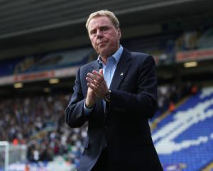 Harry Redknapp is sacked by Birmingham