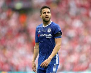 Cesc Fabregas unhappy at missing out on FA Cup final starting spot