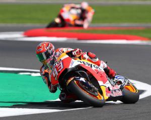 Marquez regains championship lead