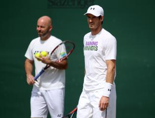Andy Murray is in no hurry to look for a new coach - Jamie Delgado