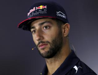 Ricciardo hits out at Red Bull team-mate Verstappen after opening-lap crash
