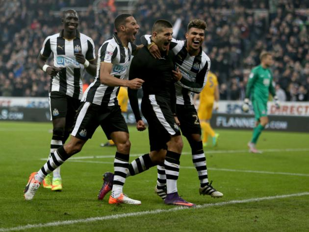 Alexander Mitrovic fires double in Newcastle rout