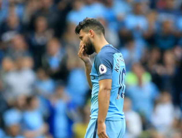 Aguero charged by England FA for violent conduct