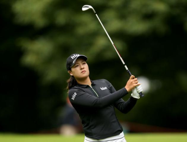 Chun, Park share first-round lead at Evian Championship