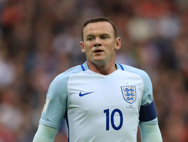 England captain Wayne Rooney dropped by Gareth Southgate