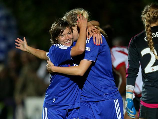 Chelsea Ladies crowned Super League champions for first time after big win