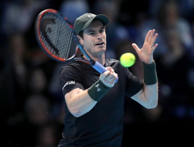 Murray survives match point to beat Raonic at ATP finals