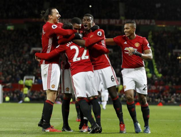 Mourinho hails United late show as tribute to birthday boy Ferguson