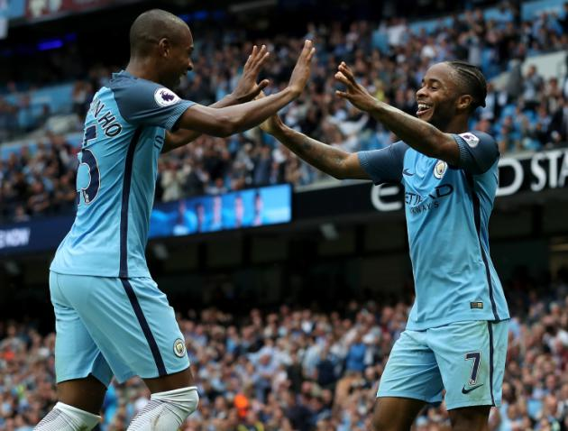 Raheem Sterling brace maintains Pep Guardiolas winning start at Manchester City