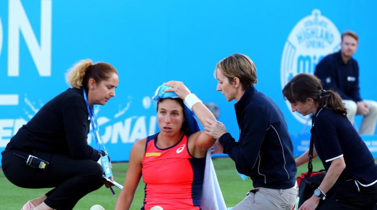 Johanna Konta and Heather Watson reach quarter-finals at Eastbourne