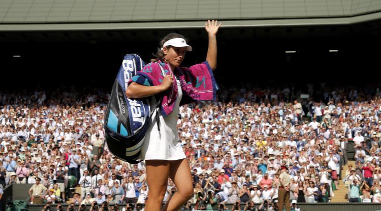 Wimbledon: Garbine Muguruza breezes into final