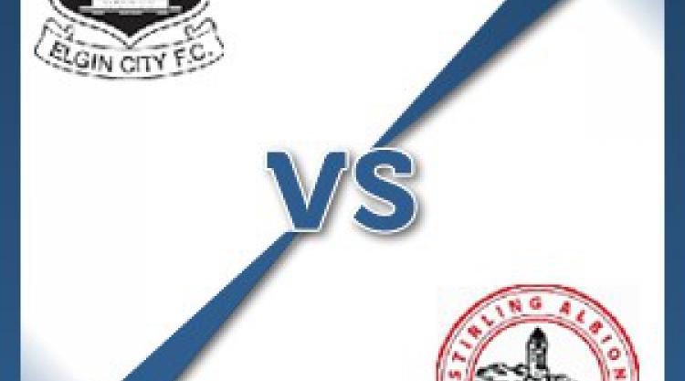 Elgin V Stirling at Borough Briggs : Match Preview