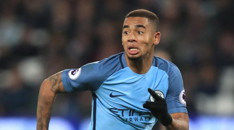 Man City's Jesus in line for Wembley return against Arsenal