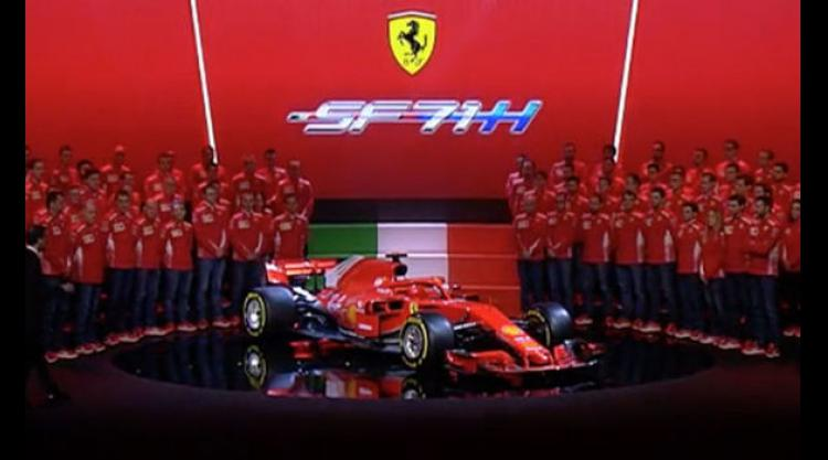 Ferrari F1 2018 Car Launch: Sebastian Vettel And Kimi Raikkonen Unveil New  Challenger