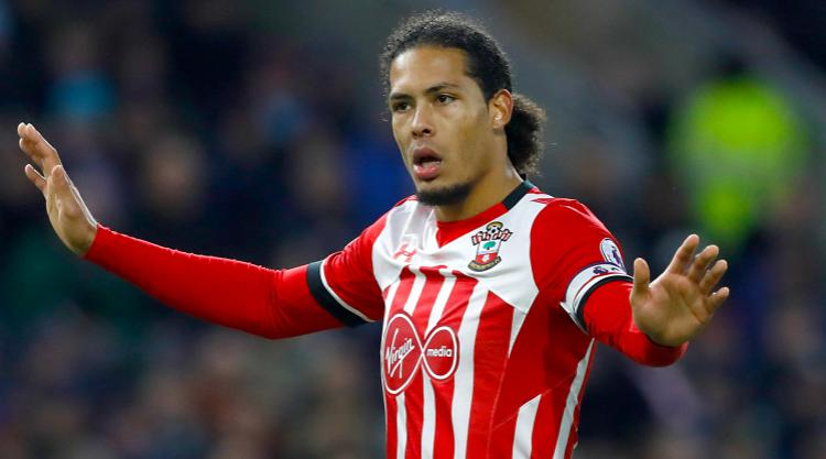 Virgil van Dijk training alone at Southampton