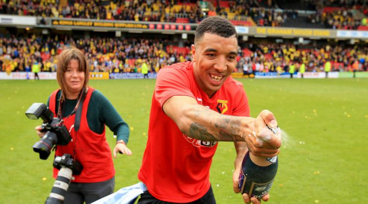 Troy Deeney named Championship PFA Fans' Player of the Month for April