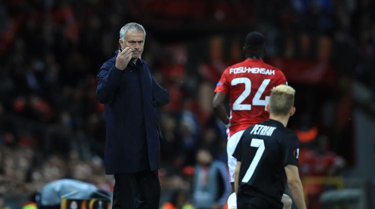 Jose Mourinho preparing for a gruelling run of games after Europa League win