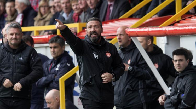 Derek McInnes: Aberdeen manager and assistant Tony Docherty to stay