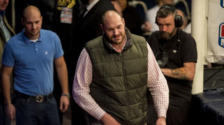 Tyson Fury hearing postponed by UK Anti-Doping