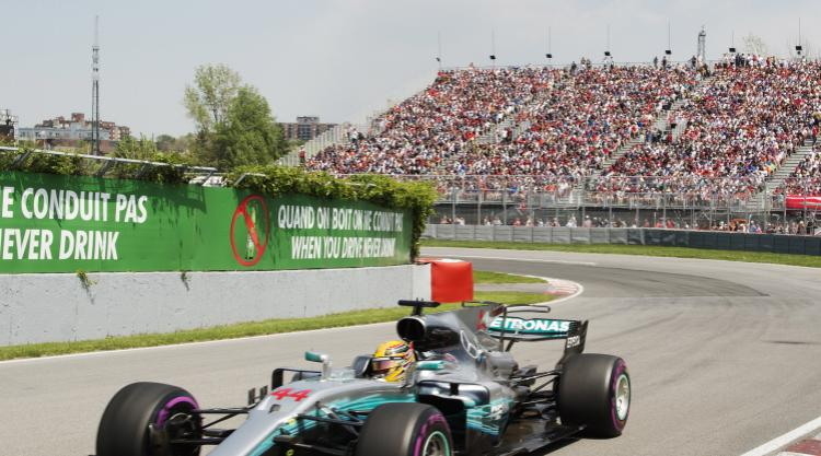 Lewis Hamilton wins his sixth Canadian Grand Prix title
