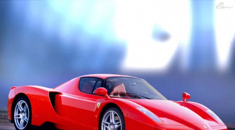 Ferrari Enzo the only car big enough for Zlatan Ihimovic