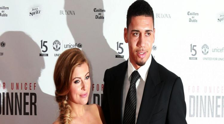 Check out Chris Smalling and his girlfriend Sam Cooke at the top of Machu Picchu