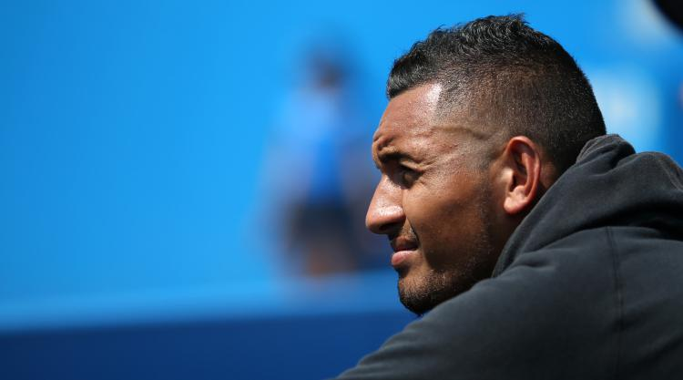 Injured Kyrgios pulls out of Wimbledon opener