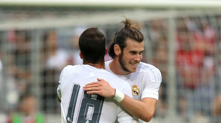 Bale happy at Real Madrid