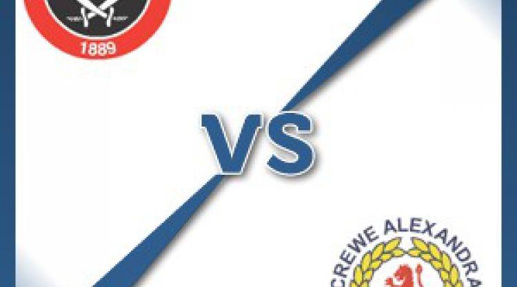 Sheff Utd V Crewe at Bramall Lane : Match Preview