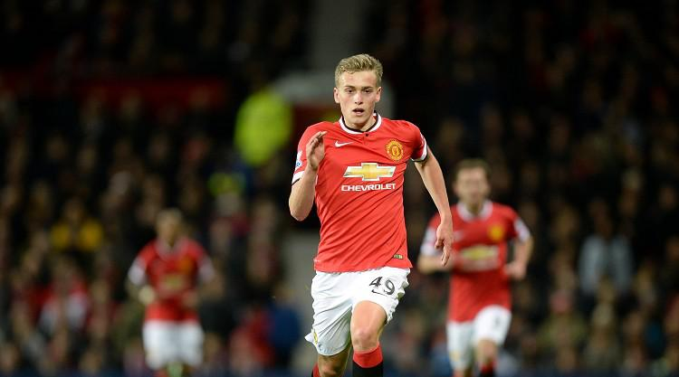 James Wilson joins Championship leaders Brighton on loan from Manchester United