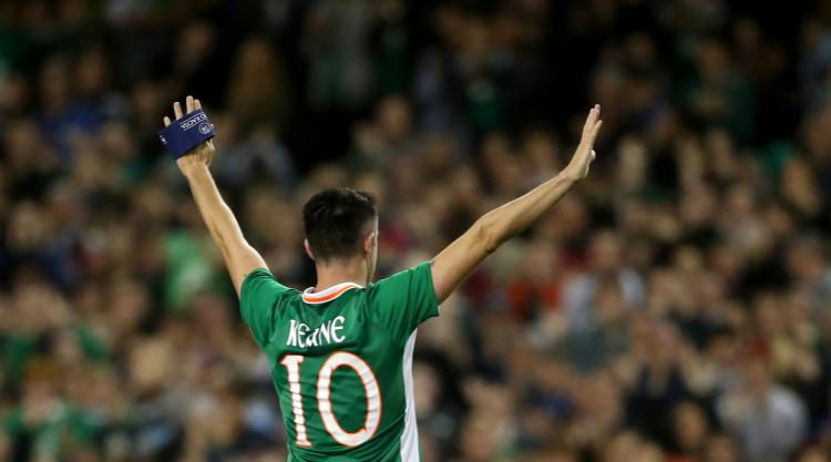 Robbie Keane tells Republic players to always appreciate putting on green jersey