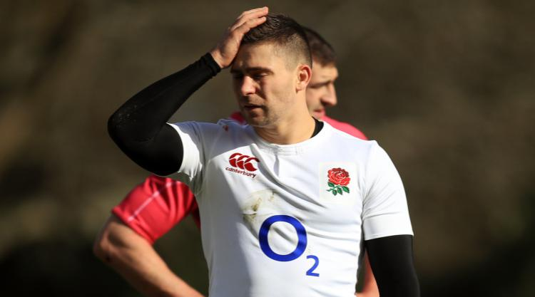 England full-back Mike Brown faces anxious wait over ankle injury