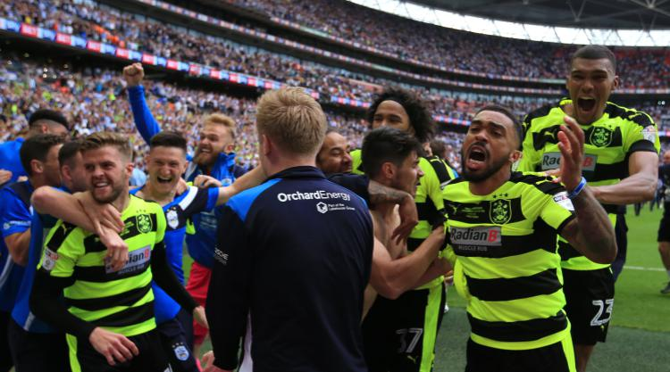 Huddersfield back in the big time after shootout success