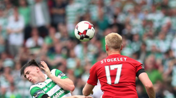 Rogic nets victor as Celtic secure treble