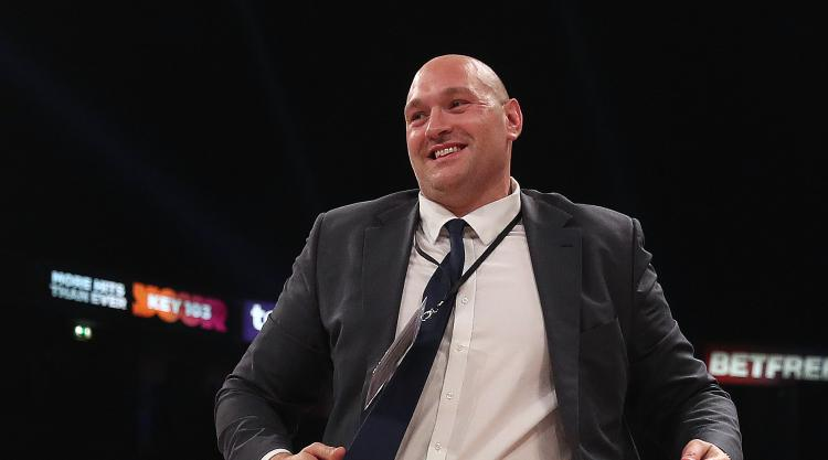 Fury licence to be considered by BBBofC in January