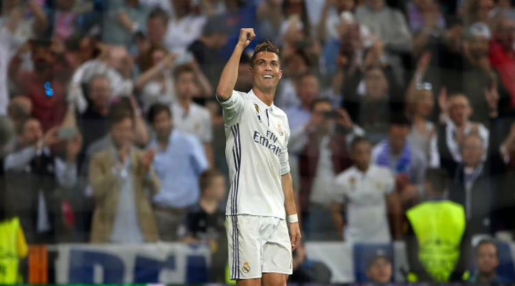 Ronaldo revels in son's hat-trick days after his own against Atletico
