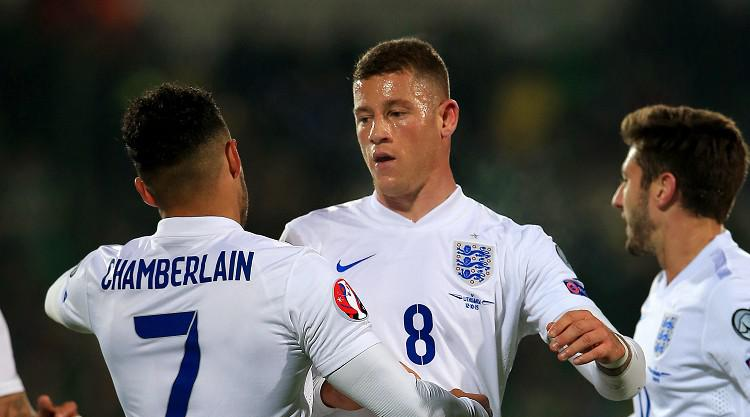 England finish with a flourish, although fighting fans mar victory in Vilnius