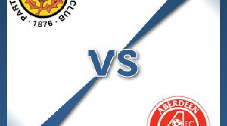 Partick V Aberdeen at Firhill Stadium : Match Preview