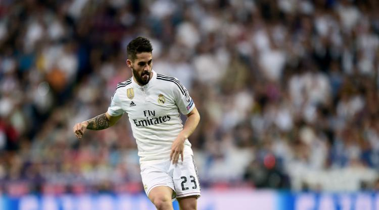 Arsenal scout Real Madrid's Isco ahead of potential transfer