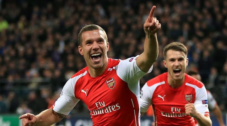 Podolski set for Arsenal departure