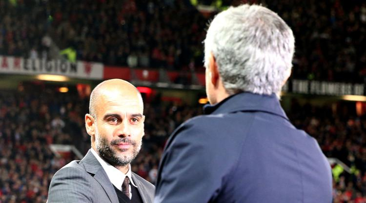 Mourinho labels City as favourite for top four